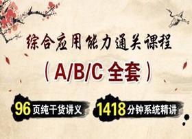 全套:综合应用能力考点精讲(ABC三类)