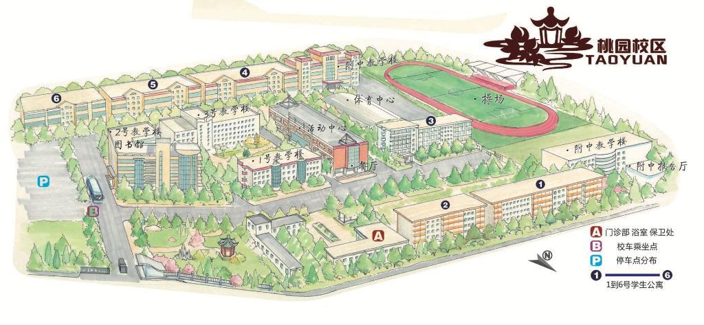 2019年国家公务员考试陕西考区考点考场平面示意图8